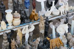 Afrikansk basar arkivfoton