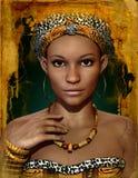 Afrikansk dam, 3d CG vektor illustrationer