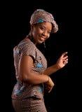 afrikansk dans Arkivbilder