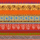 Afrikansk dekorativ modell vektor illustrationer