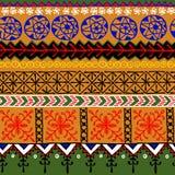 Afrikansk dekorativ modell royaltyfri illustrationer