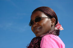 afrikansk deltagare Royaltyfri Fotografi