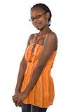 afrikansk deltagare royaltyfria foton