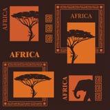 afrikansk design Arkivfoto