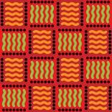 afrikansk design Arkivfoton