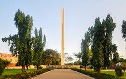 Afrikansk enhetmonument - Accra, Ghana Arkivfoton
