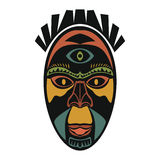 afrikansk etnisk maskering Royaltyfri Bild