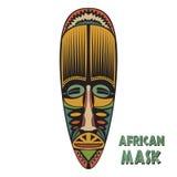 afrikansk etnisk maskering Arkivfoto