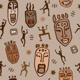 afrikansk etnisk modell Arkivfoto