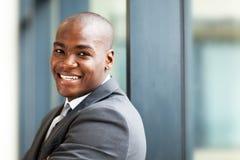 Afrikansk företagsägare Arkivbild