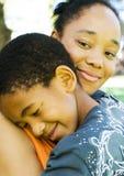 afrikansk familj Royaltyfria Bilder
