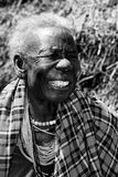Afrikansk farmor Arkivfoto