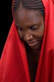 afrikansk flicka Arkivbilder