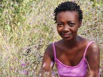 afrikansk flicka royaltyfria foton