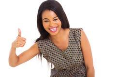 Afrikansk flickatumme upp Royaltyfria Foton