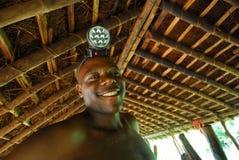 afrikansk gruvarbetare Fotografering för Bildbyråer