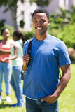 Afrikansk högskolapojke Royaltyfri Bild