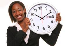 afrikansk klockakvinna Arkivfoton