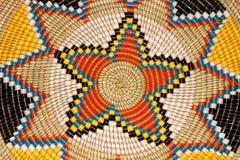 afrikansk korg Arkivbild