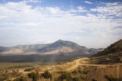 afrikansk liggande Mago National Park ethiopia royaltyfria bilder