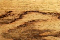 afrikansk limba spalted trä Arkivfoton