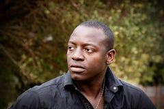 afrikansk male modell Royaltyfri Fotografi
