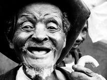Afrikansk man Arkivfoto