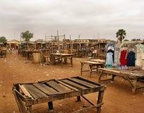 Afrikansk marknad Fotografering för Bildbyråer