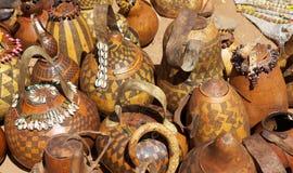 Afrikansk marknad Arkivbild