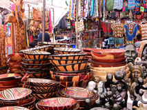 afrikansk marknad Royaltyfria Bilder