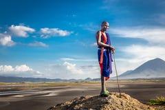 Afrikansk Masai Arkivfoton