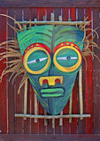 afrikansk maskering Arkivbild