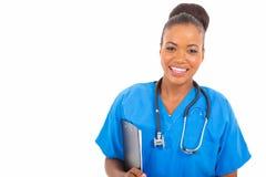 Afrikansk medicinsk doktor Royaltyfri Foto