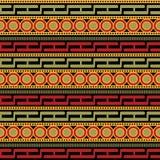 Afrikansk modellvektor royaltyfri illustrationer