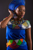 afrikansk modemodell Royaltyfria Foton