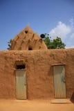 afrikansk moské Arkivbilder