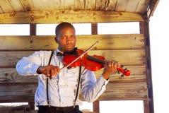 afrikansk musikerstående Royaltyfri Foto