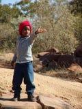 afrikansk pojke Arkivbilder
