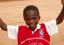 afrikansk pojke ghana Royaltyfria Foton