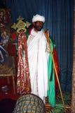 Afrikansk präst Arkivbild