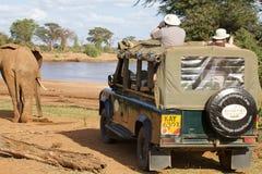 afrikansk safari Arkivbild