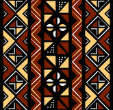 Afrikansk seamless modell stock illustrationer