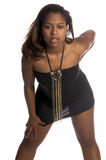afrikansk sexig kvinna royaltyfri fotografi