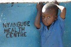 Afrikansk sjukvård Royaltyfri Fotografi