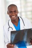 Afrikansk sjukvårdarbetare Royaltyfri Fotografi