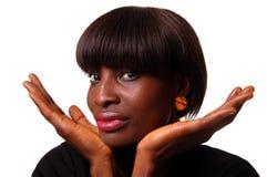 afrikansk skönhet royaltyfria bilder