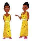 Afrikansk skönhetdrottning Royaltyfri Fotografi