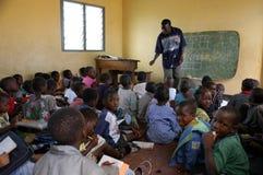afrikansk skola Arkivfoton