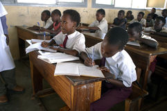 afrikansk skola Royaltyfri Foto