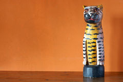 afrikansk skulptur Arkivbilder